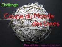 LOGO coupe du monde des livres CHALLENGE papier